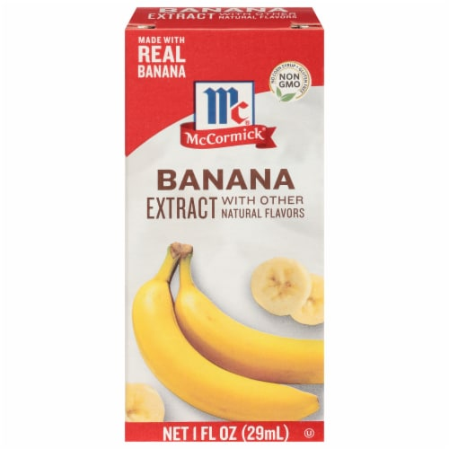 McCormick Banana Flavor Extract Perspective: front