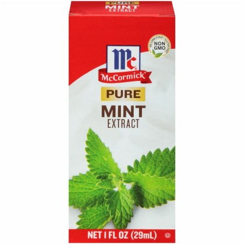 McCormick Pure Mint Extract Perspective: front