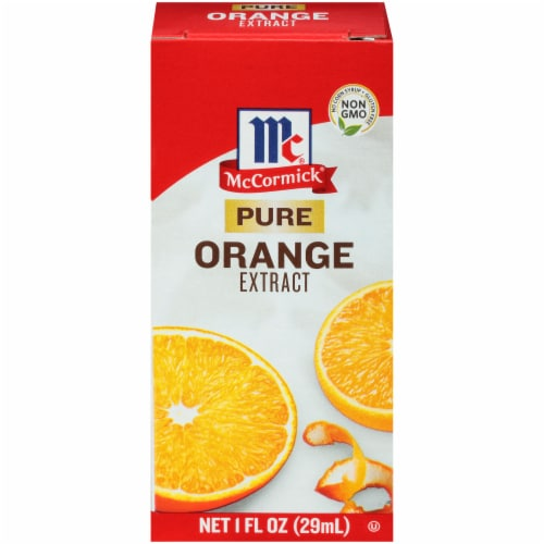 McCormick Pure Orange Extract Perspective: front