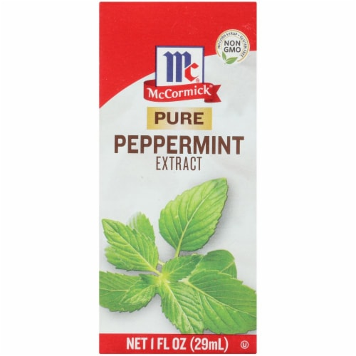 McCormick Pure Peppermint Extract Perspective: front