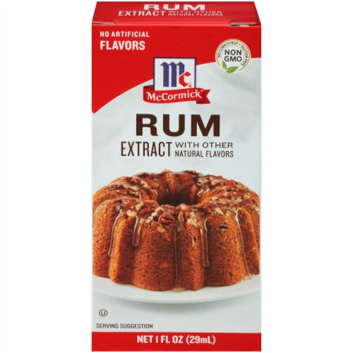 McCormick Rum Extract with Other Natural Flavors Perspective: front