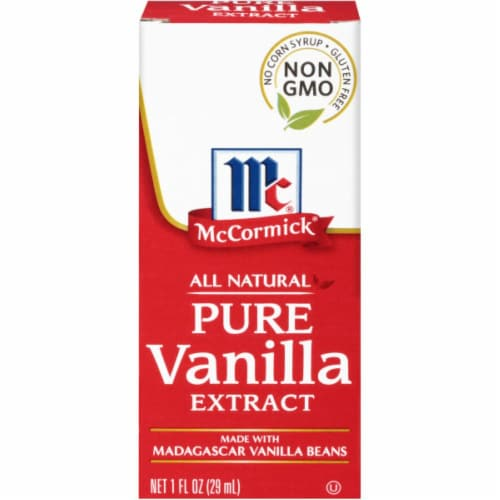 McCormick Pure Vanilla Extract Perspective: front