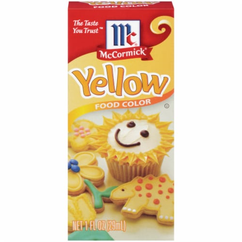 McCormick Yellow Food Coloring Perspective: front
