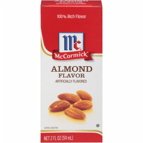 McCormick Imitation Almond Extract Perspective: front