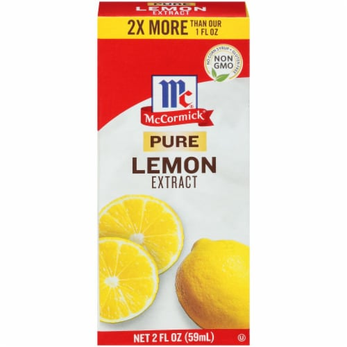 McCormick Pure Lemon Extract Perspective: front