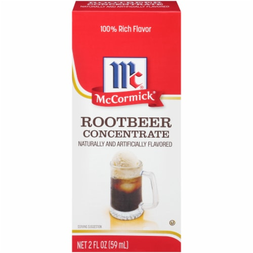 McCormick Natural & Artificial Flavored Root Beer Concentrate Perspective: front