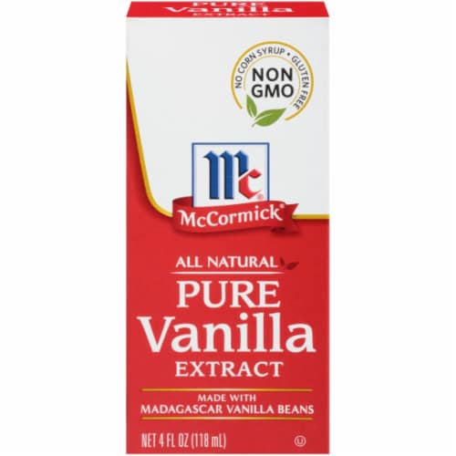 McCormick All Natural Pure Vanilla Extract Perspective: front
