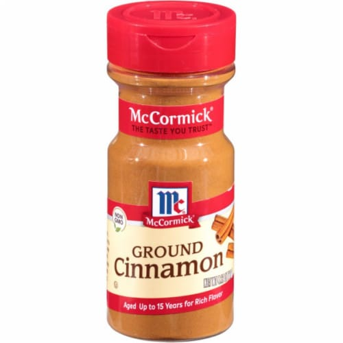 McCormick Ground Cinnamon Shaker Perspective: front