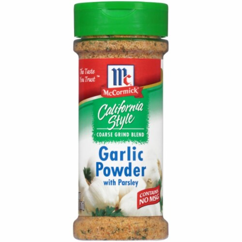 McCormick California Style Garlic Powder with Parsley Perspective: front