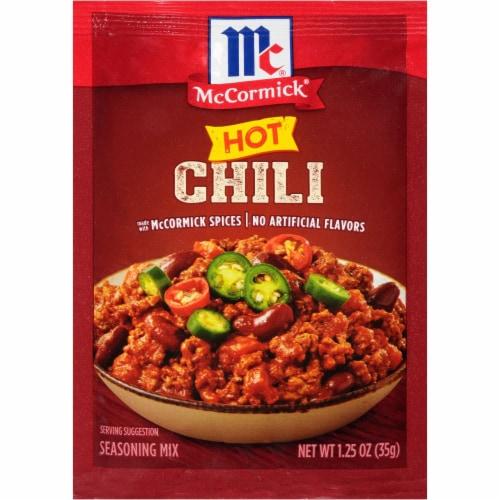 McCormick Hot Chili Seasoning Mix Perspective: front