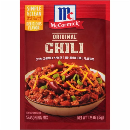 McCormick Original Chili Seasoning Mix Perspective: front