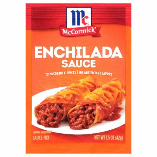 McCormick® Enchilada Seasoning Mix Perspective: front
