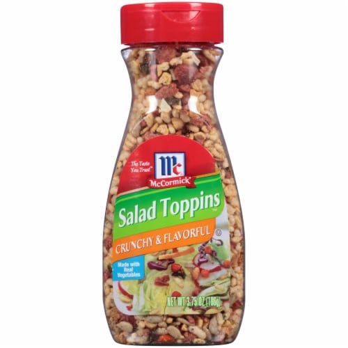 McCormick Salad Toppins Crunchy & Flavorful Topping Perspective: front