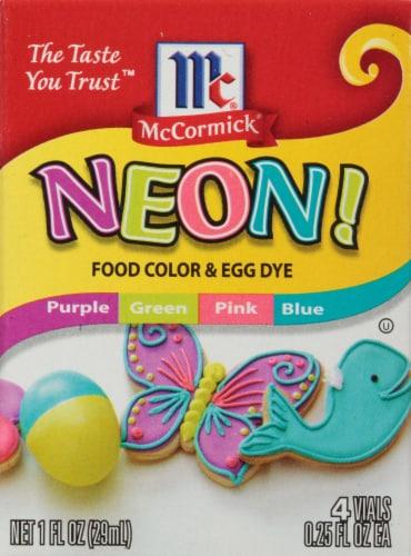 Kroger - McCormick Neon! Food Color & Egg Dye