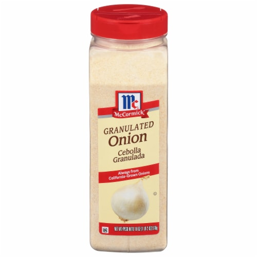 McCormick Granulated Onion Perspective: front