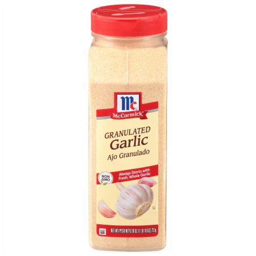 McCormick Granulated Garlic Shaker Perspective: front