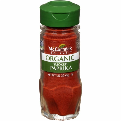 McCormick Gourmet Organic Smoked Paprika Perspective: front