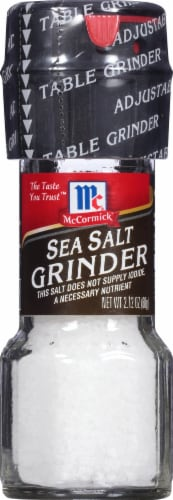McCormick Sea Salt Grinder Perspective: front