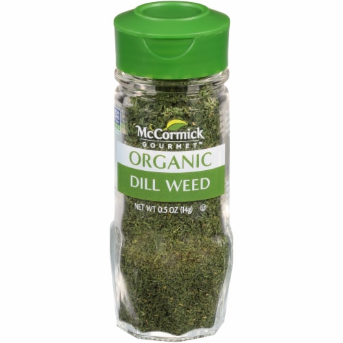 McCormick Gourmet Organic Dill Weed Perspective: front