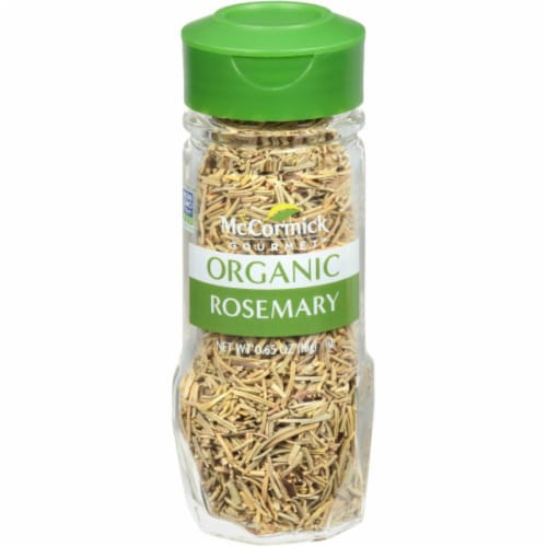 McCormick Gourmet Organic Rosemary Shaker Perspective: front