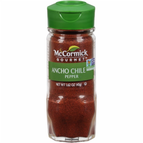 McCormick Gourmet Ancho Chile Pepper Perspective: front