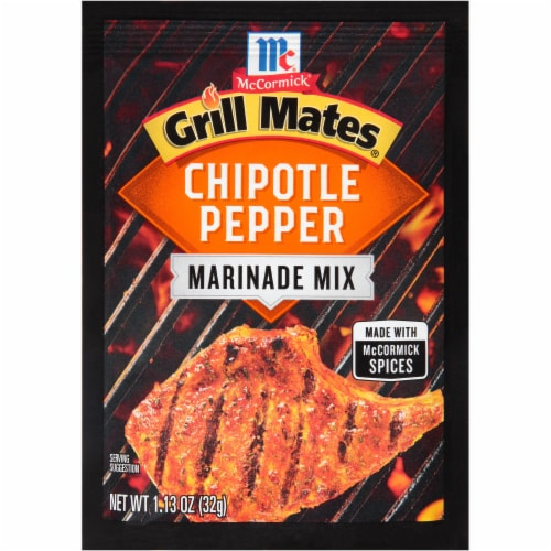 McCormick Grill Mates Chipotle Pepper Marinade Perspective: front
