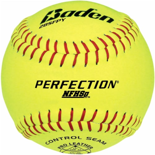 Baden Perfection Game Softballs Perspective: front