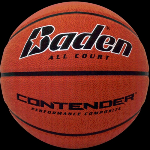 Baden Contender Official Basketball Perspective: front