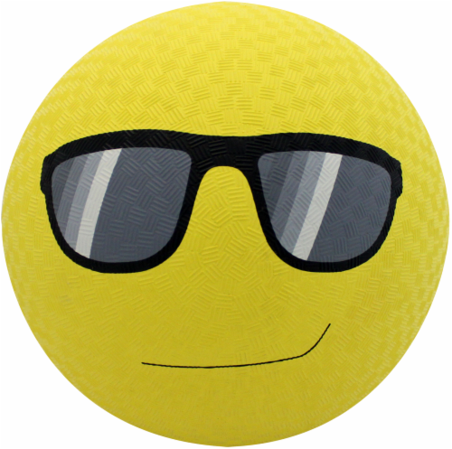 Baden Sports Rubber Sunglasses Emoji Playground Ball Perspective: front