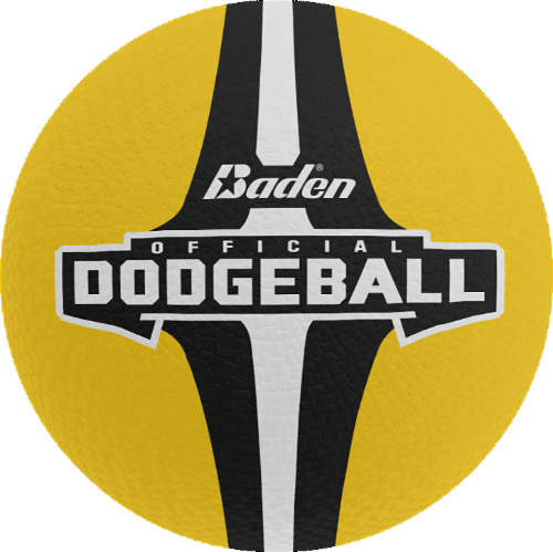 Baden Official Dodgeball - Yellow Perspective: front