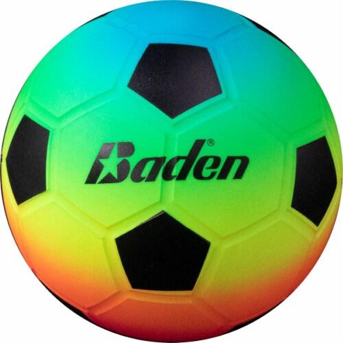 Baden Vinyl Soccer Ball - Rainbow Perspective: front