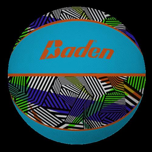 Baden Basketball - Blue Maze Perspective: front