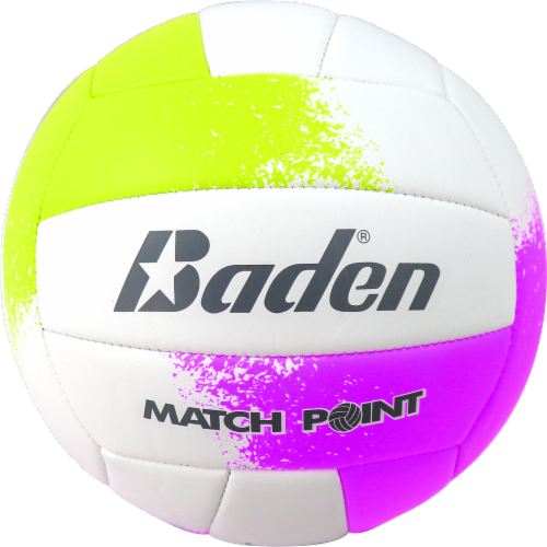 Baden Match Point Volleyball - White/Purple Perspective: front