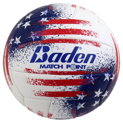 Baden Match Point USA Volleyball - Red/White/Blue Perspective: front