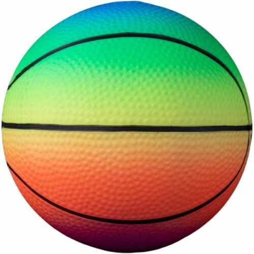Baden Vinyl Basketball - Rainbow Perspective: front