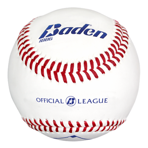 Baden Official League Practice Baseballs Perspective: front