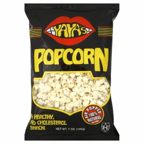Yaya's Salted Popcorn Perspective: front