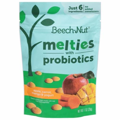 Beech-Nut Naturals Apple Carrot Mango & Yogurt Melties with Probiotics Perspective: front