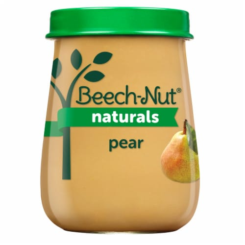 Beech-Nut® Naturals Stage 1 Pears Baby Food Perspective: front