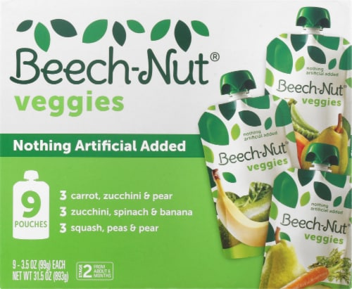 Beech-Nut Veggies Stage 2 Baby Food Variety Pack Perspective: front