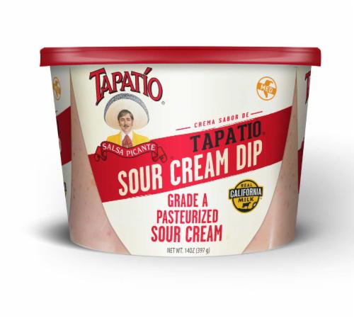 Tapatio Original Sour Cream Dip Perspective: front