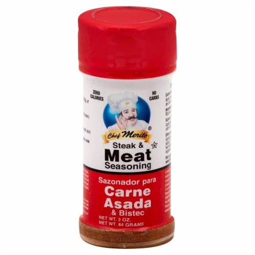 Chef Merito Steak & Meat Seasoning Perspective: front