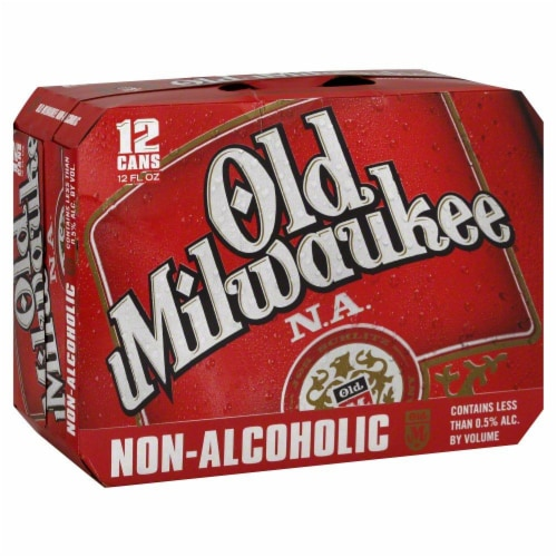 Old Milwaukee Non-Alcoholic Perspective: front