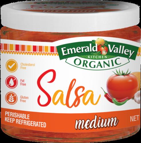 Emerald Valley Organic Medium Salsa Perspective: front