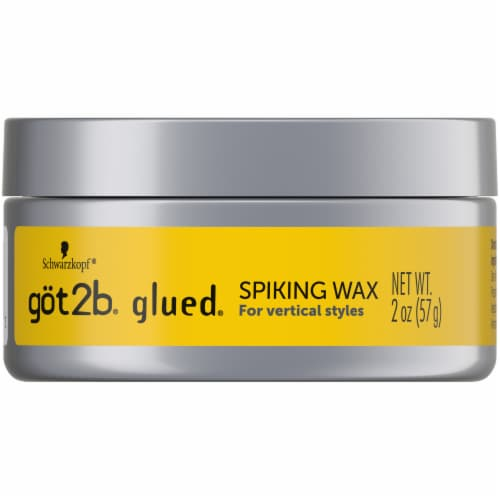 got2b Glued High Shine Screaming High Hold Spiking Wax Perspective: front
