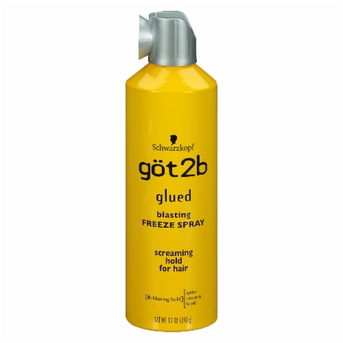Schwarzkopf Göt2b Glued Blasting Freeze Spray Perspective: front