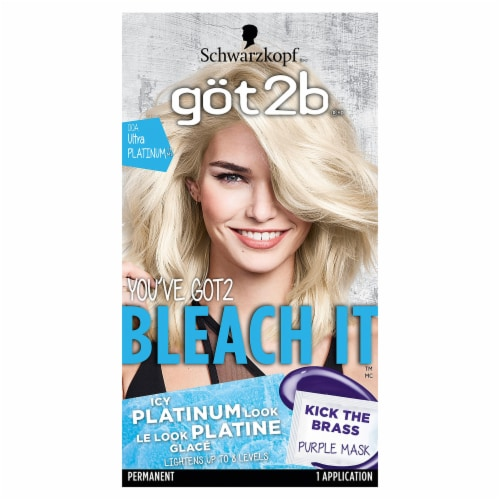Got2b Heavenly Blonde 00A Permanent Hair Color Perspective: front