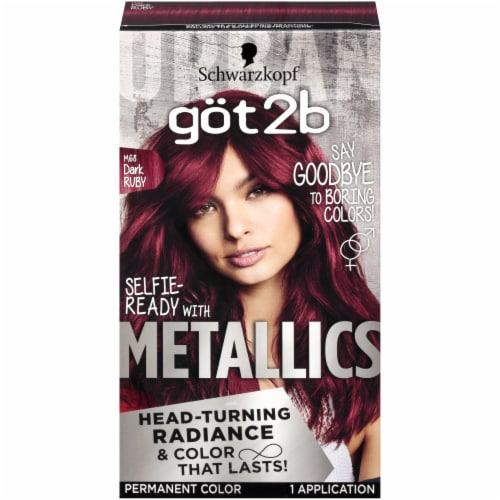 got2b Metallics Dark Ruby M68 Hair Color Perspective: front