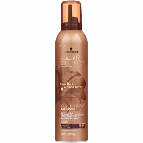 Smooth 'N Shine Camellia Oil & Shea Butter Curl Defining Mousse Perspective: front