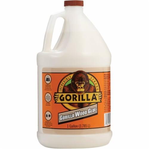 Gorilla Wood Glue,Jug Container,1 gal.,Beige  6231501 Perspective: front
